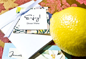Lemon-inspired wedding ideas