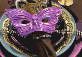 Bring Mardi Gras Revelry to Your Rehearsal Party Tables! {Part 1 ...