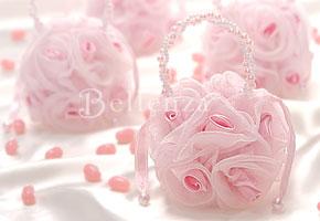 pink sachet bags