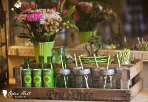 Find in Focus: Wooden Crates as Rustic Wedding Decor