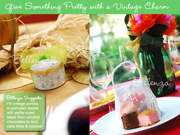 Favors with a Vintage Charm