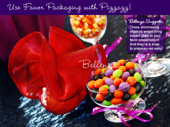 Colorful wrapped candies
