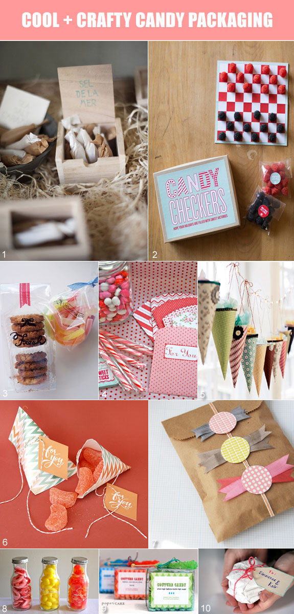 Creative favor packaging ideas for candy