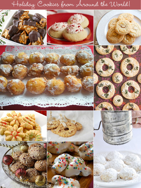 10 Holiday Cookies From Around The World Creative And Fun Wedding