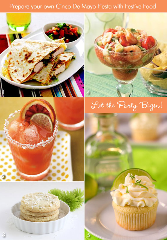 Food for Cinco de Mayo Engagement Party