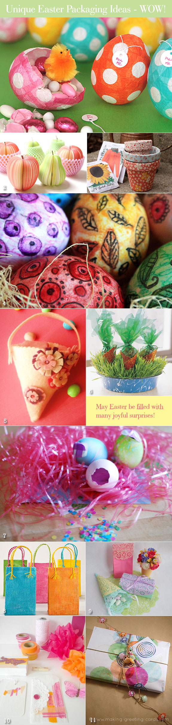 Easter packaging ideas