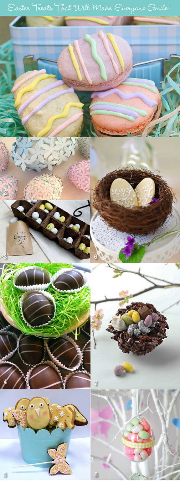 Easter sweets and treats
