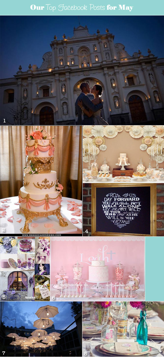 Popular Wedding Ideas for May
