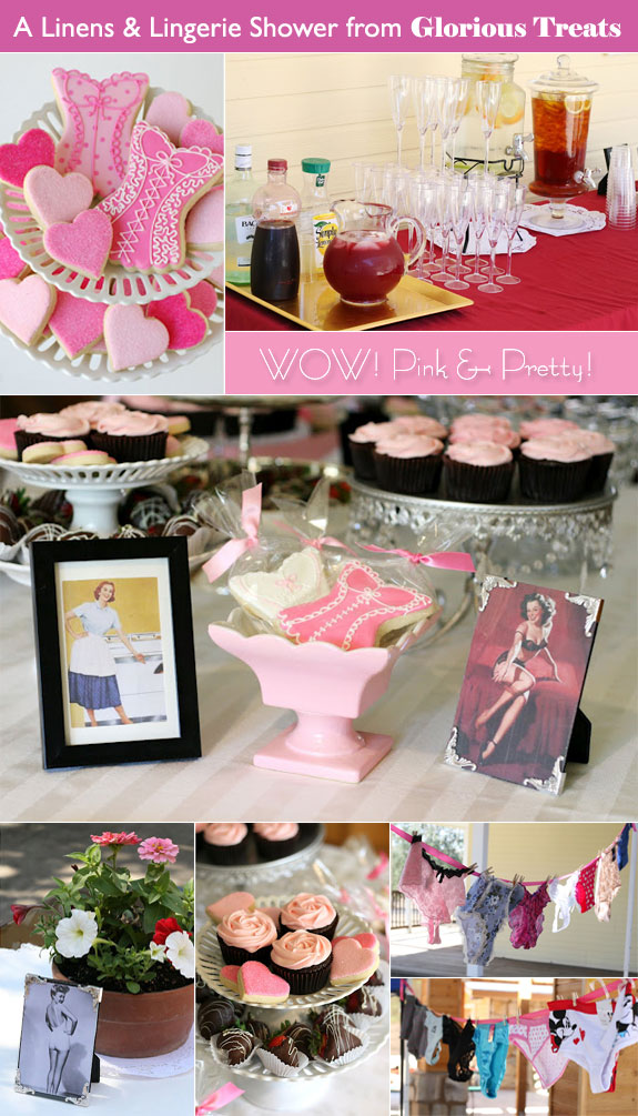 Lingerie bridal shower ideas