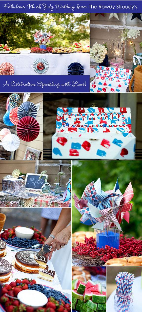 July 4th Wedding Decoration Ideas