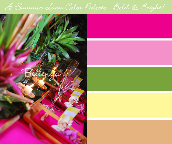 Luau color palette