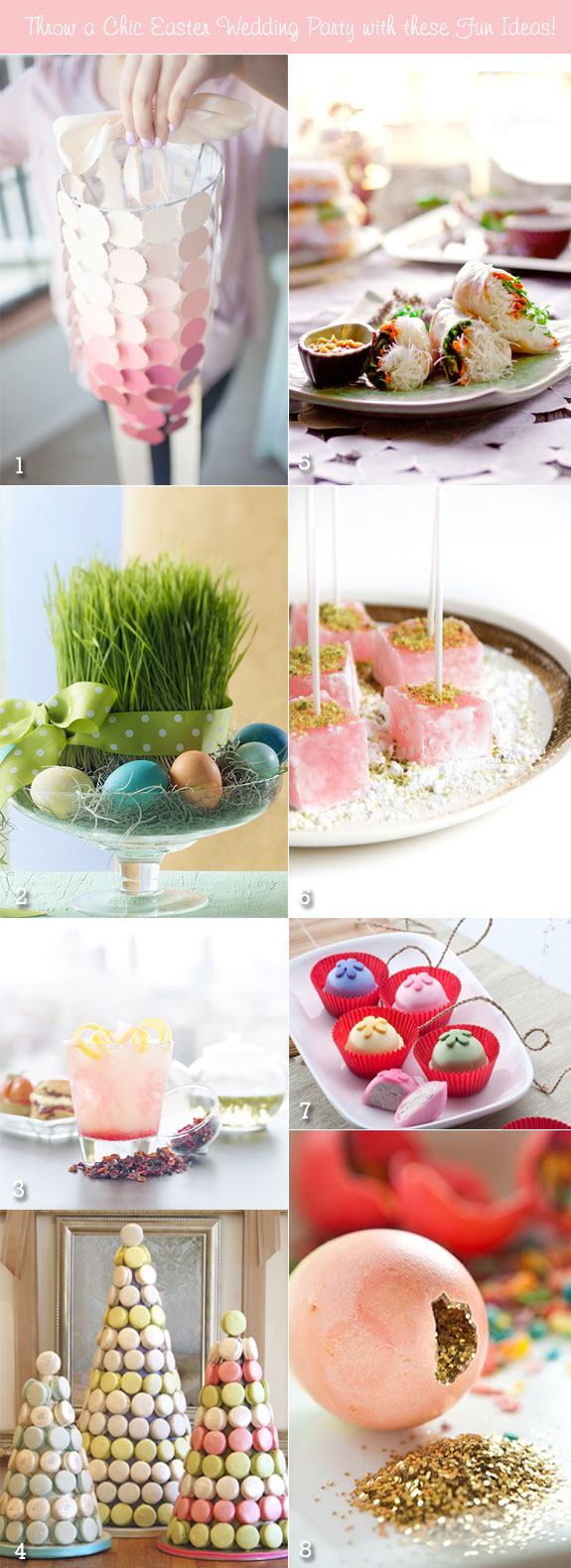 inspiration boards for easter wedding