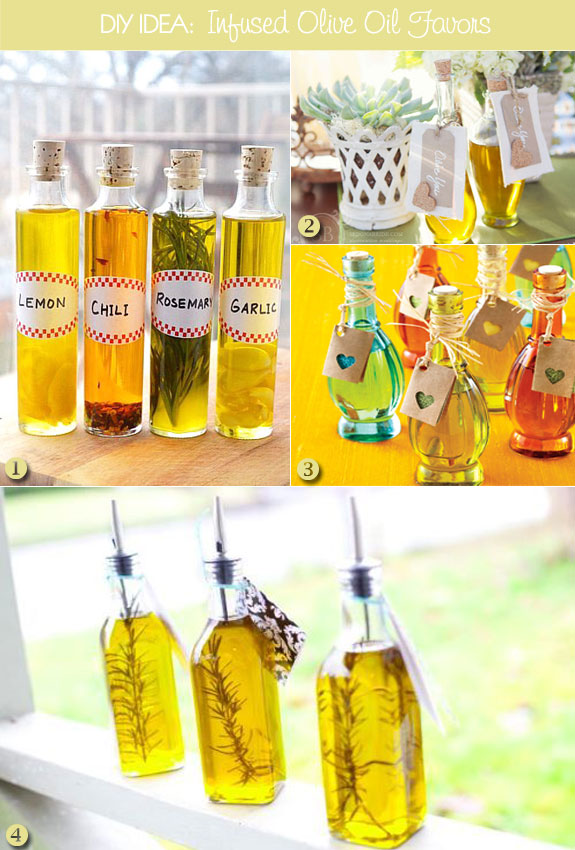 Give The Coolest Olive Oil Favors At Your Wedding Unique Wedding