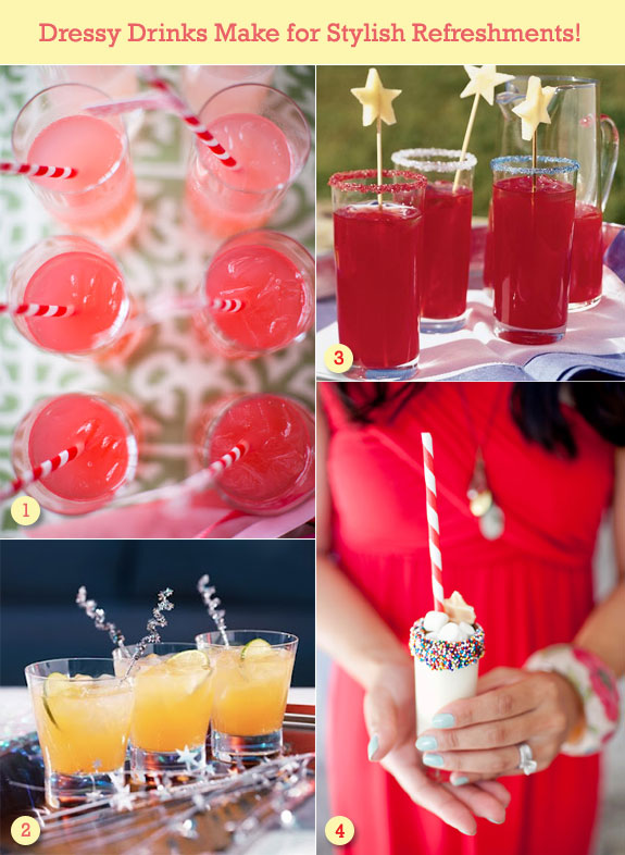 Dressy party drinks