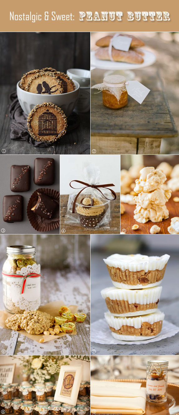 Peanut butter favor ideas that are easy to make