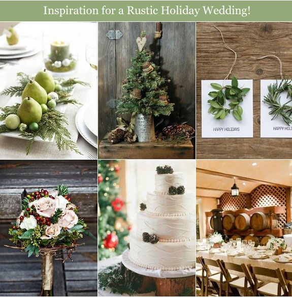 Christmas table decor with organic materials