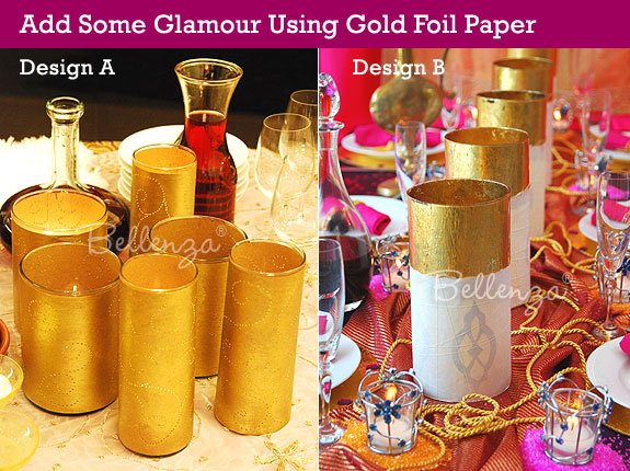 Gold luminaries