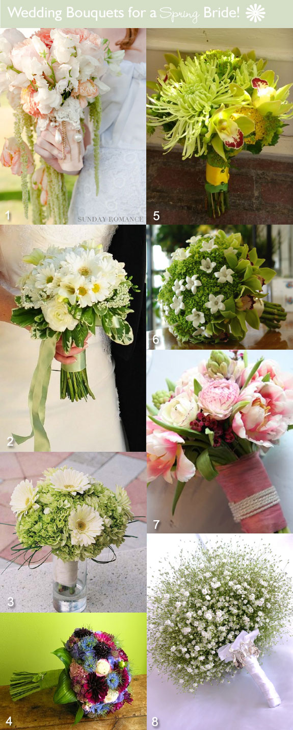 Elegant Bouquet Ideas For Your Spring Wedding Unique Wedding Ideas