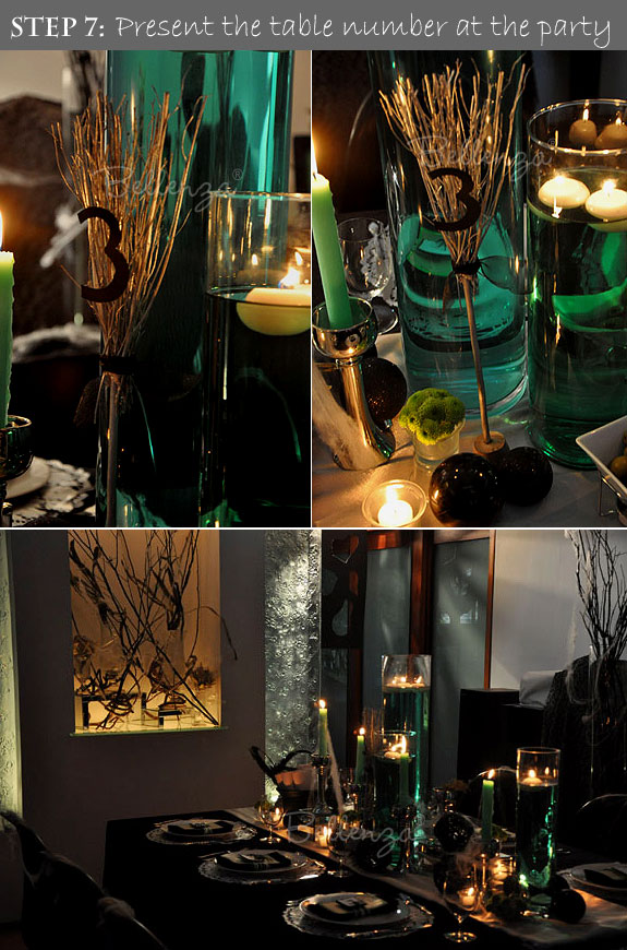 Halloween DIY Project: a Witch's Broomstick Becomes a Table Number