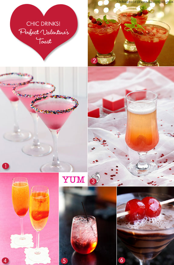 Ordinary Valentine Cocktail Party Ideas Part - 2: Cocktails For Valentineu0027s Day