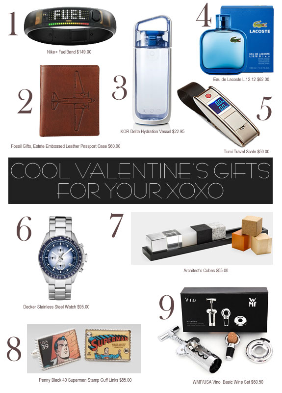 Valentineu0027s Gifts For Him That Are Cool