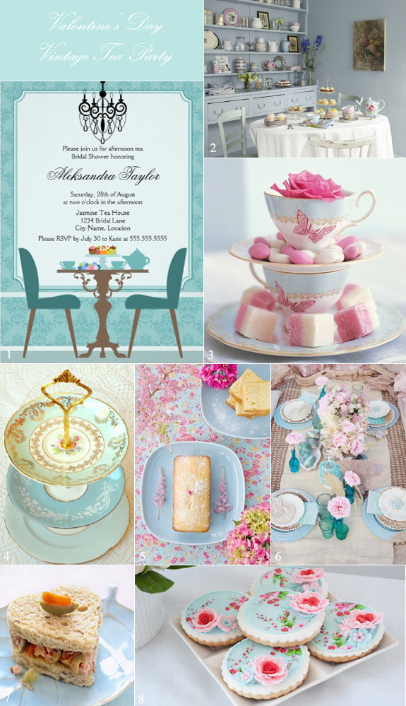 host a vintage bridal shower with a jane austen vibe
