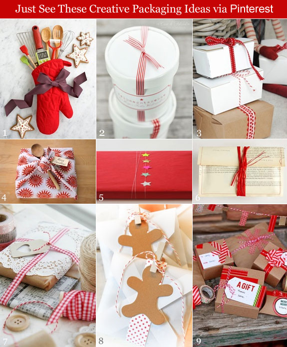 DIY holiday packaging with chic accents