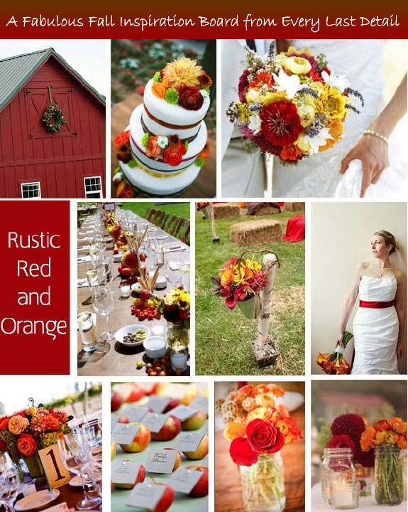 Rustic fall table setting inspirations that are diy unique fall wedding ideas junglespirit Gallery