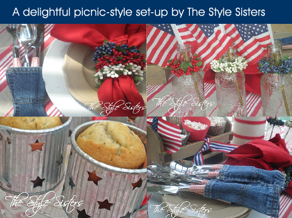 4th of July picnic table ideas