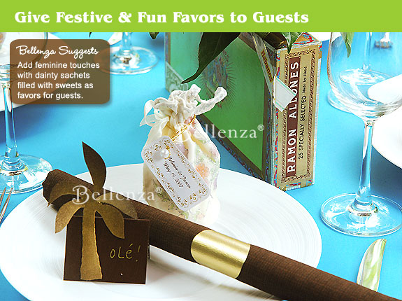 Havana Nights Party Favors for Guests