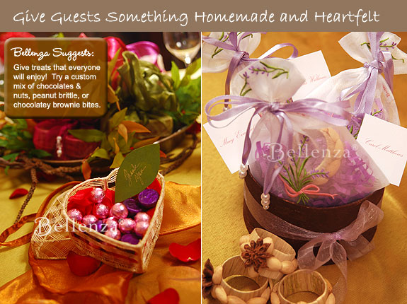 Mementos for guests