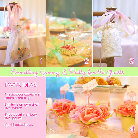 Favor ideas for southern belle theme