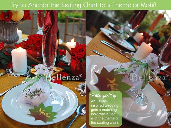 Rustic Italian wedding tablescape