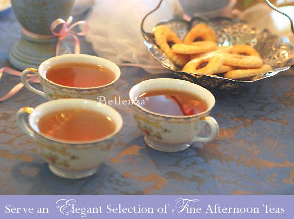 Victorian tea selections