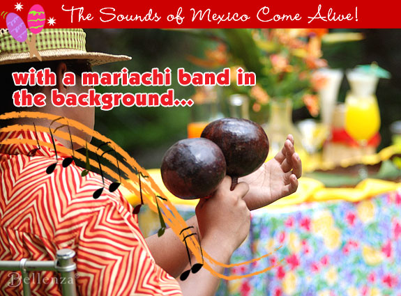 Play up the maracas at a Cinco de Mayo engagement party.