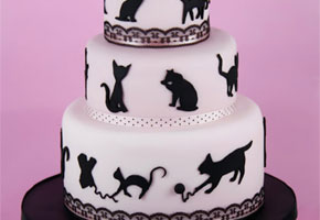 "A Black Cat Theme: The ""Purrfect"" Bridal Shower"
