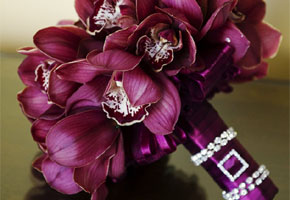 Elegant Bridal Bouquets with a Super Glam Factor
