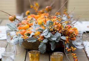 DIY-it! Thanksgiving Centerpieces with Candles!