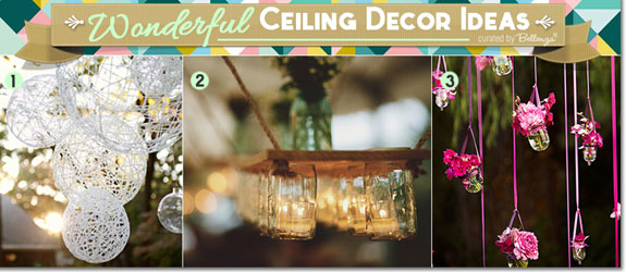 Diy ceiling decor my web value diy wedding crafts ceiling d kits junglespirit Choice Image