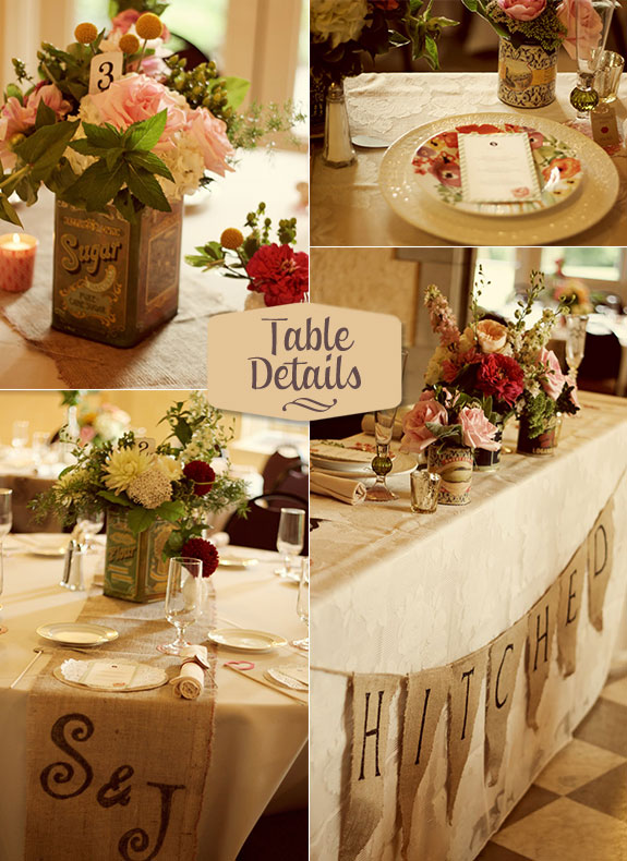 Fabulous Feature: Neo-vintage Wedding by Whimsy Decor - Unique ...