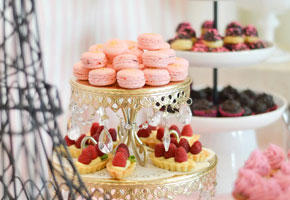 A Sweet Parisian Bridal Shower Feature in Pink and Gold