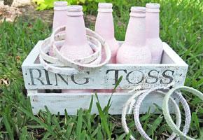 Ring toss weddings