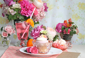 A Beautiful Sorbet Bridal Shower by Julie Blanner