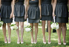 Charming Charcoal Bridesmaids Dresses: Inspirational Styles!
