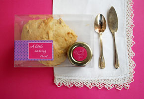 Scone favors by the Craft Begins with Printables