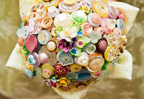 Buttons Make the Cutest Wedding Decorations to DIY!