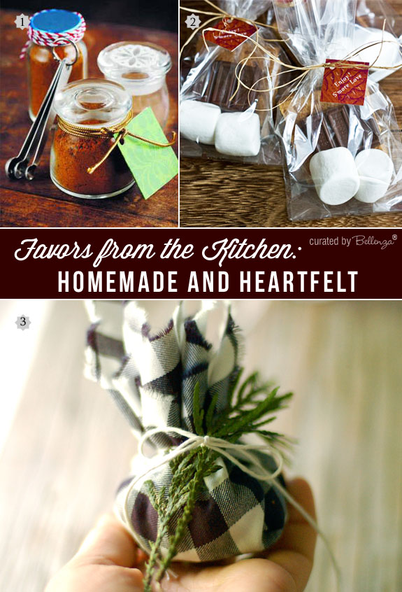 Simple favors you can make at home from curry powder mixes to gingerbread cookies