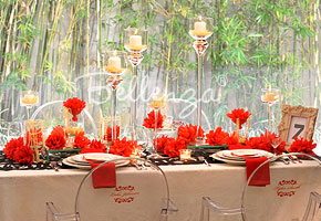 Red and Black Soiree: Winter Engagement Party Series - Idea #3