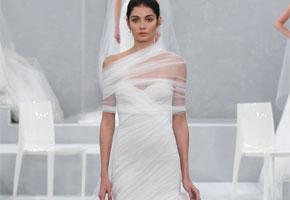 Modern Wedding Gowns for an Urban Industrial Style Wedding