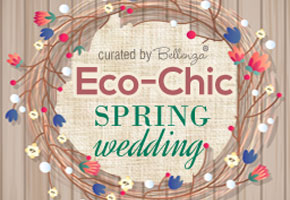 Eco-chic Ideas for a Spring Wedding Ceremony!